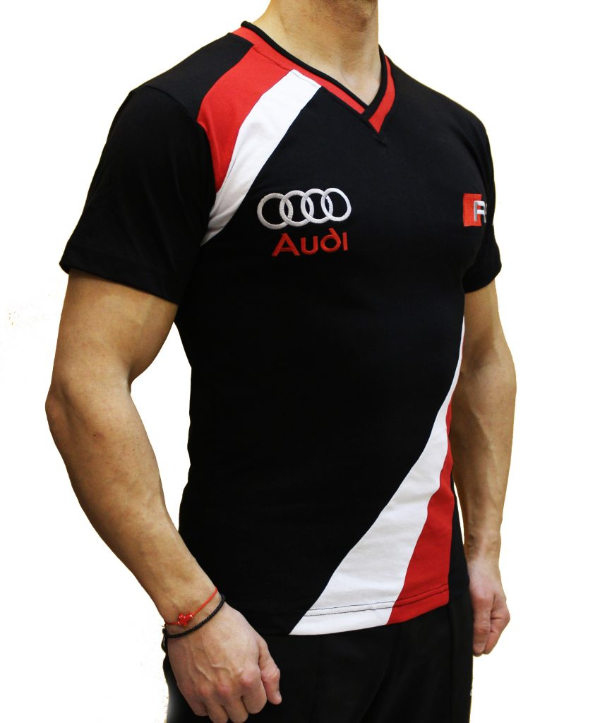 audi rs t shirt designed and hand crafted by auto moto fans. Black Bedroom Furniture Sets. Home Design Ideas