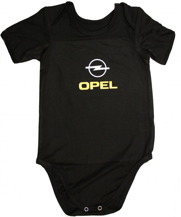 Opel bodysuit for baby