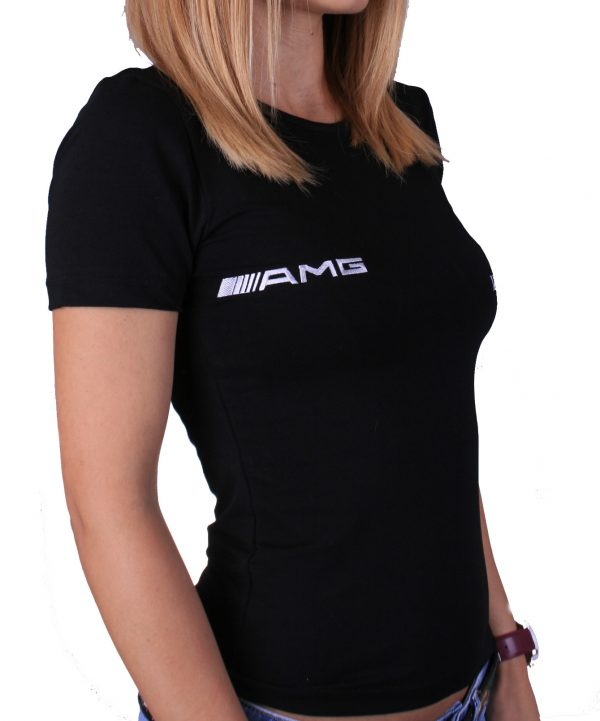 Mercedes-Benz AMG lady black t-shirt