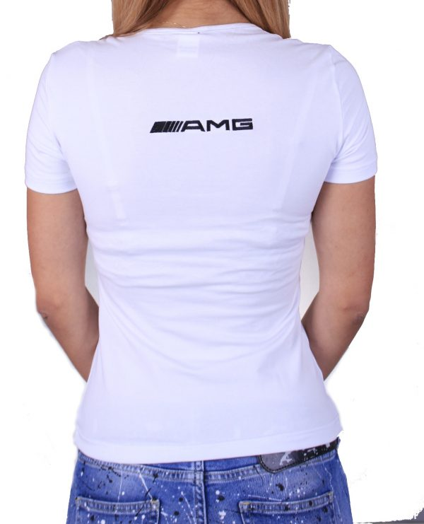 Mercedes-Benz AMG white lady t-shirt
