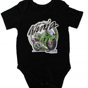 Kawasaki Ninja Bodysuit for Baby with long sleeves