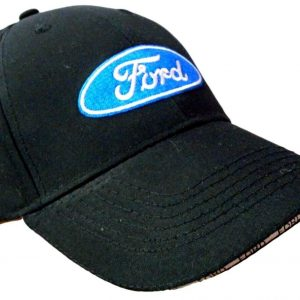 Ford-Classic-Baseball-Cap-Black-Hat-Logo-Embroidered
