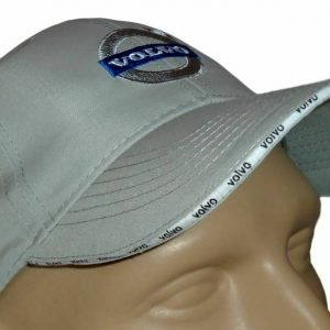 Volvo-Classic-Baseball-Cap-Gray-Hat-Logo-Embroidered-_57