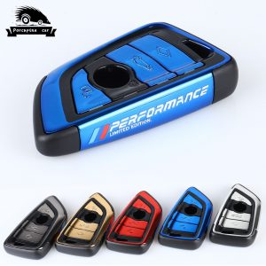 New-ABS-plating-Car-Key-Case-Cover-M-Performance-For-BMW-X1-X3-X5-X6-1
